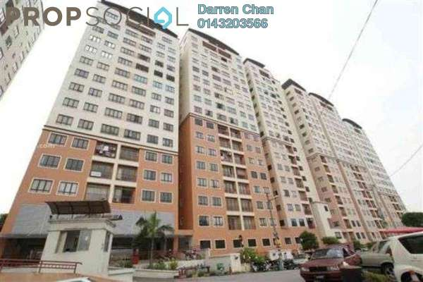 For Rent Condominium at Glen View Villa, Cheras Leasehold Semi Furnished 3R/2B 1.1k