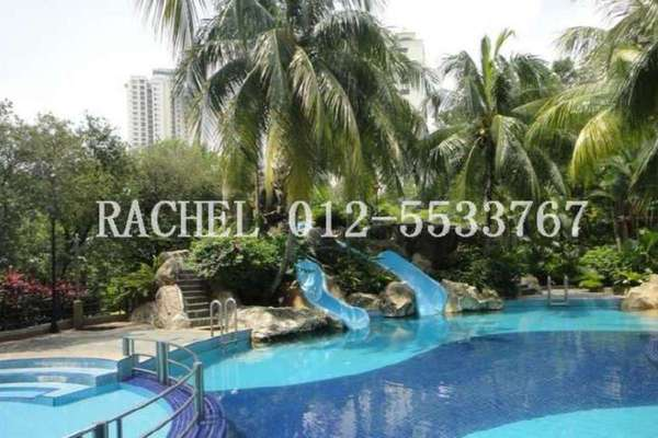 For Rent Condominium at Angkupuri, Mont Kiara Leasehold Fully Furnished 3R/3B 3k