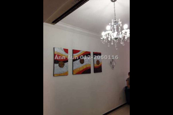 For Sale Condominium at Rhythm Avenue, UEP Subang Jaya Leasehold Fully Furnished 2R/1B 345k