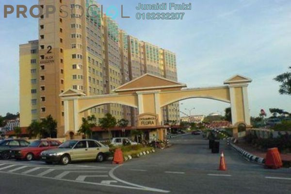 For Rent Apartment at Desaminium Flora, Bandar Putra Permai Leasehold Semi Furnished 3R/2B 900translationmissing:en.pricing.unit