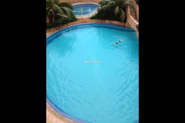 For Sale Serviced Residence at Rhythm Avenue, UEP Subang Jaya Leasehold Unfurnished 2R/1B 330k