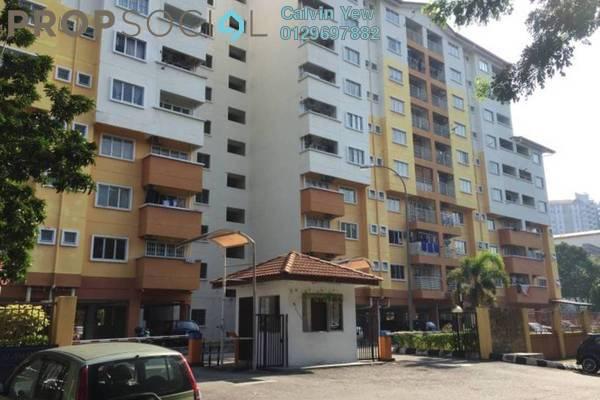 For Sale Apartment at Serdang Villa Apartment, Seri Kembangan Freehold Semi Furnished 3R/2B 320k