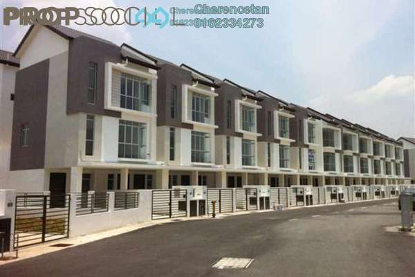 For Rent Townhouse at Taman Tasik Prima, Puchong Leasehold Unfurnished 3R/2B 1.3k