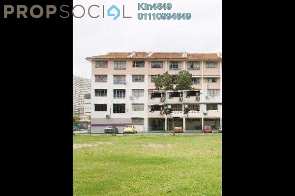 For Sale Apartment at Sungai Pinang, Balik Pulau Freehold Unfurnished 1R/1B 70k