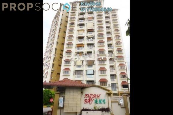 For Rent Condominium at Indah Bay, Tanjung Tokong Freehold Semi Furnished 3R/2B 1.3k