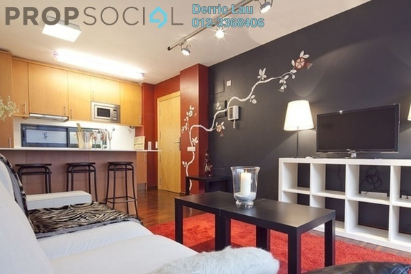 For Rent SoHo/Studio at Marc Service Residence, KLCC Freehold Fully Furnished 1R/1B 3.5k