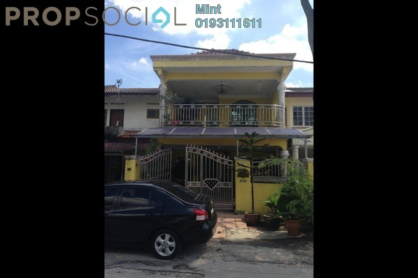 For Sale Terrace at Taman Sri Muda, Shah Alam Freehold Semi Furnished 3R/2B 620k