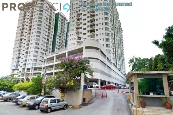For Sale Condominium at Kepong Central Condominium, Kepong Leasehold Semi Furnished 3R/2B 350k