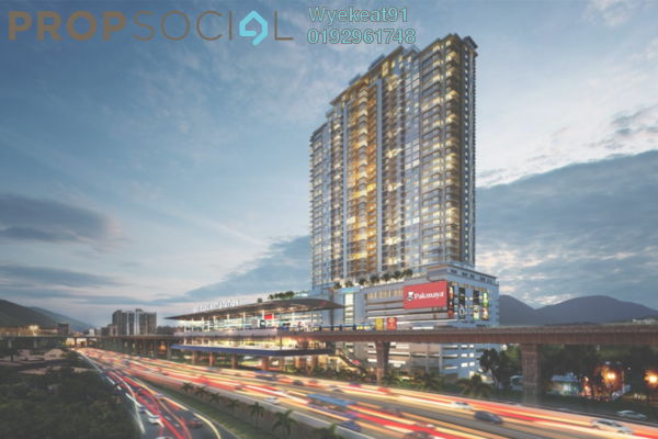 For Sale Serviced Residence at Saville @ Cheras, Cheras South Freehold Unfurnished 3R/2B 749k