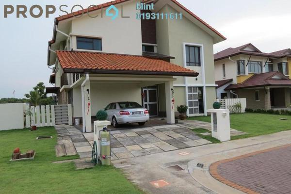 For Sale Bungalow at Glenmarie Cove, Port Klang Freehold Semi Furnished 6R/7B 2.98m