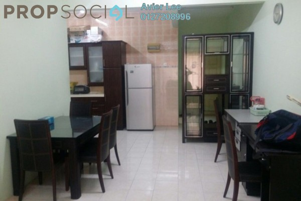 For Sale Apartment at Bayu Villas, Bukit Minyak Freehold Fully Furnished 2R/2B 280k