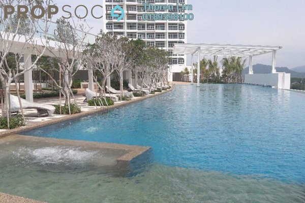 For Rent Condominium at Southbay Plaza @ Southbay City, Batu Maung Freehold Semi Furnished 3R/3B 2k