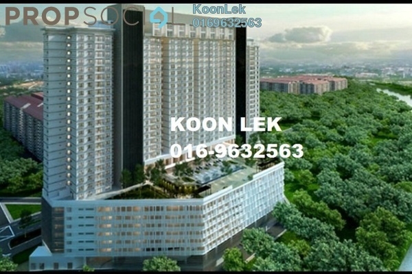 For Sale Condominium at The Edge Residen, Subang Jaya Leasehold Semi Furnished 2R/2B 380k