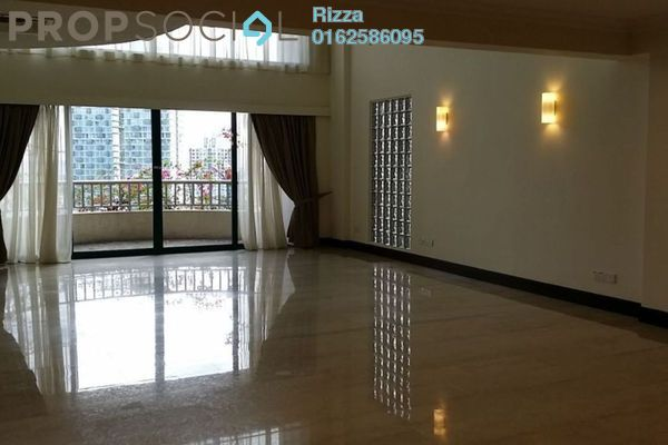 For Rent Condominium at Regency Tower, Bukit Ceylon Freehold Semi Furnished 3R/0B 12k