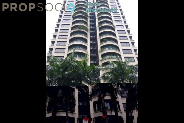 For Rent Condominium at Regency Tower, Bukit Ceylon Freehold Semi Furnished 3R/0B 6k