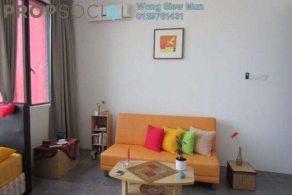 For Rent SoHo/Studio at Ritze Perdana 1, Damansara Perdana Leasehold Fully Furnished 1R/1B 1.3千