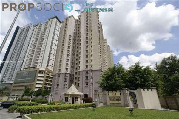 For Rent Condominium at Laman Suria, Mont Kiara Freehold Fully Furnished 3R/2B 2.6k