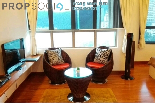 For Sale SoHo/Studio at Ritze Perdana 1, Damansara Perdana Leasehold Fully Furnished 1R/1B 375k