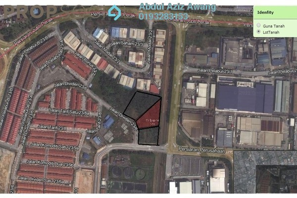 For Sale Factory at Section 23, Shah Alam Leasehold Unfurnished 0R/0B 28.4m