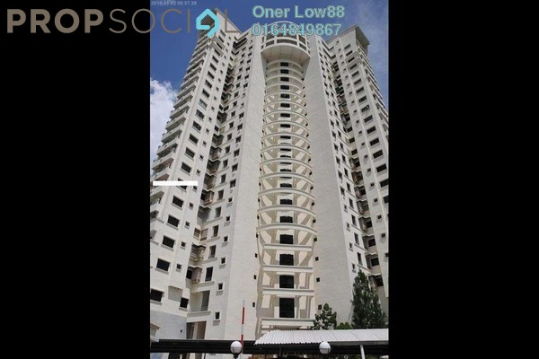 For Rent Condominium at Victoria Heights, Bukit Jambul Freehold Semi Furnished 3R/2B 1.4k