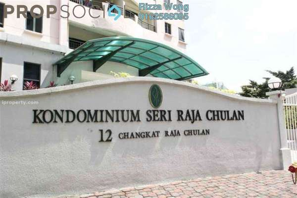 For Rent Condominium at Seri Raja Chulan, Bukit Ceylon Freehold Fully Furnished 3R/2B 3.6k