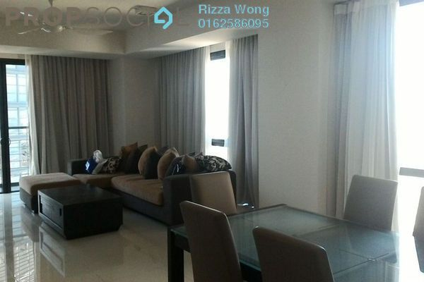 For Sale Condominium at Hampshire Place, KLCC Freehold Fully Furnished 2R/2B 2m