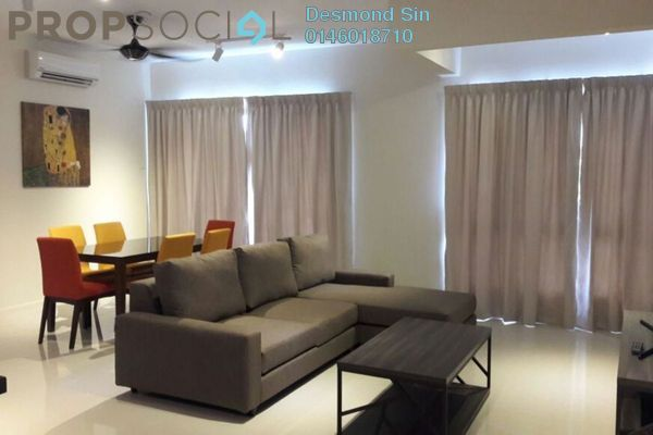 For Rent Condominium at Raffel Tower, Bukit Gambier Freehold Fully Furnished 3R/3B 2.4k