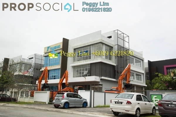 For Sale Factory at i-Parc1, Bukit Jelutong Freehold Unfurnished 2R/4B 3.3m