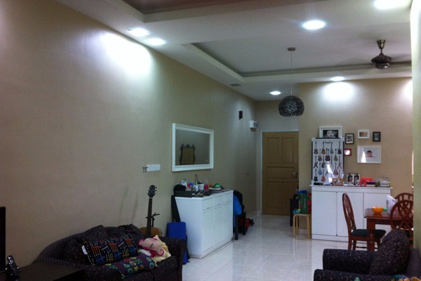 For Sale Condominium at Casa Indah 1, Tropicana Leasehold Semi Furnished 2R/2B 950k