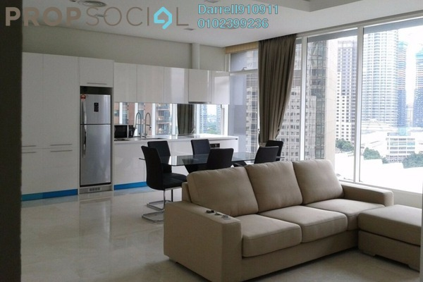 For Rent Condominium at Vipod Suites, KLCC Freehold Fully Furnished 2R/1B 6k