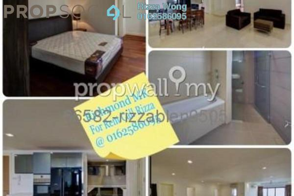 For Rent Condominium at Richmond, Mont Kiara Freehold Fully Furnished 3R/3B 4.25k