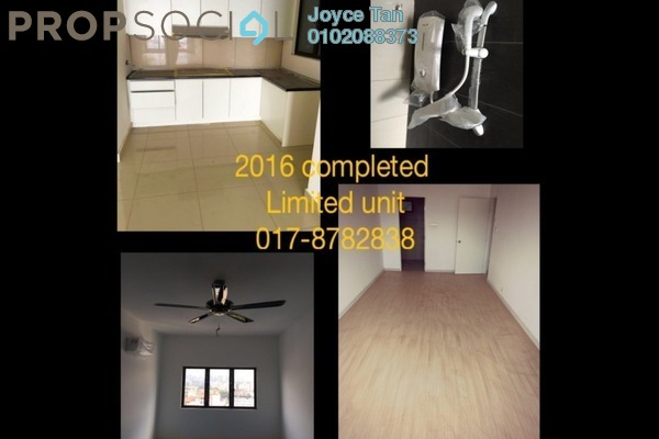 For Sale Condominium at Alpha Villa, Wangsa Maju Leasehold Semi Furnished 3R/2B 499k