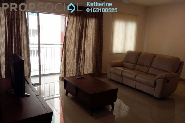 For Rent Condominium at Koi Prima, Puchong Leasehold Fully Furnished 3R/2B 1.6k