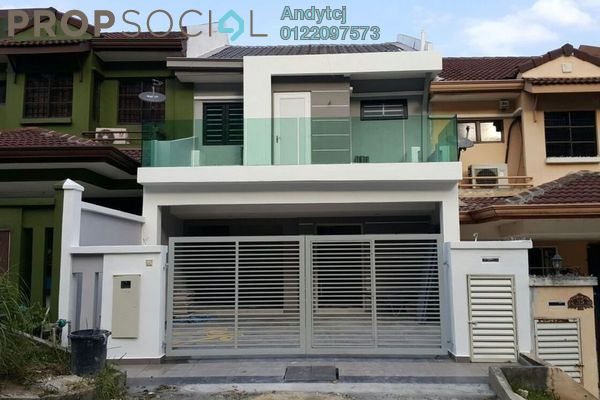 For Sale Terrace at Bandar Damai Perdana, Cheras South Freehold Semi Furnished 4R/3B 735k