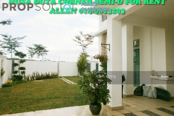 For Rent Semi-Detached at Nusa Duta, Iskandar Puteri (Nusajaya) Freehold Fully Furnished 6R/5B 4k