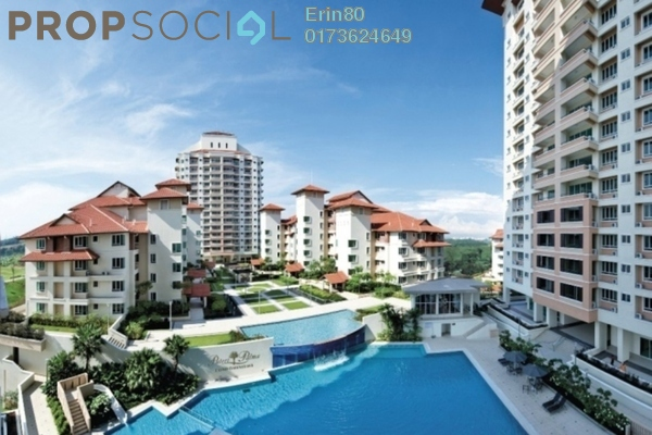 For Sale Condominium at Puteri Palma 3, IOI Resort City Freehold Semi Furnished 3R/3B 875k