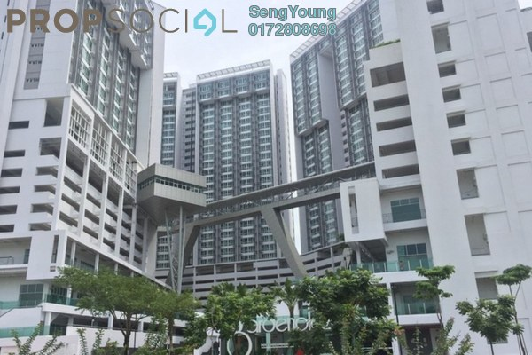 For Rent Serviced Residence at Garden Plaza @ Garden Residence, Cyberjaya Freehold Fully Furnished 3R/2B 2.2k
