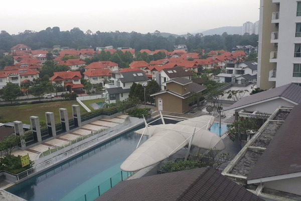 For Rent Condominium at Casa Indah 2, Tropicana Leasehold Semi Furnished 2R/2B 1.7k