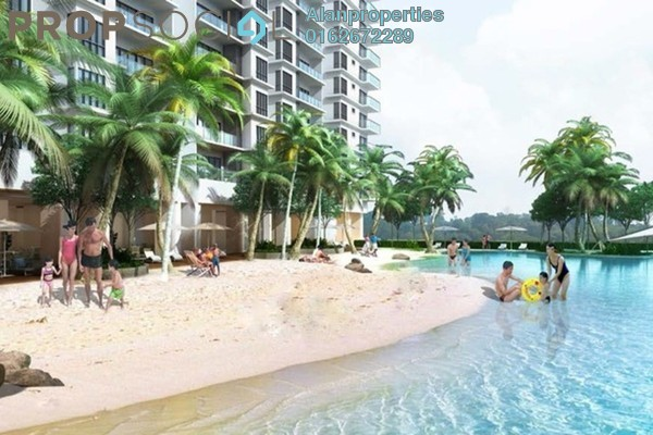 For Sale Serviced Residence at C180, Cheras South Freehold Unfurnished 3R/2B 428k