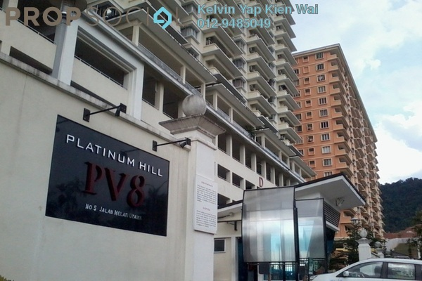 For Rent Condominium at Platinum Hill PV8, Setapak Freehold Fully Furnished 3R/2B 2.3k