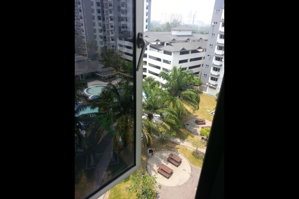 For Rent Condominium at Tiara Kelana, Kelana Jaya Leasehold Semi Furnished 3R/2B 2.1k