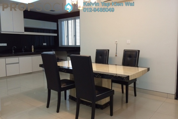 For Rent Condominium at Sterling, Kelana Jaya Leasehold Fully Furnished 2R/2B 3.6千