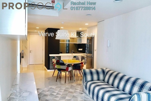 For Rent Condominium at VERVE Suites, Old Klang Road Freehold Fully Furnished 2R/2B 2.6k