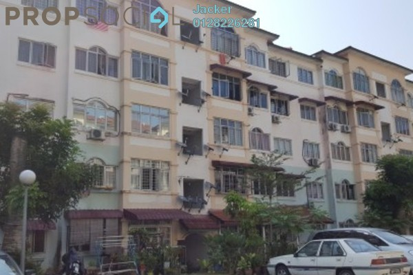 For Sale Apartment at Waja Apartment, Cheras South Freehold Semi Furnished 3R/2B 200k