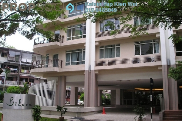For Rent Condominium at 38 Bidara, Bukit Ceylon Freehold Fully Furnished 2R/2B 2.7k