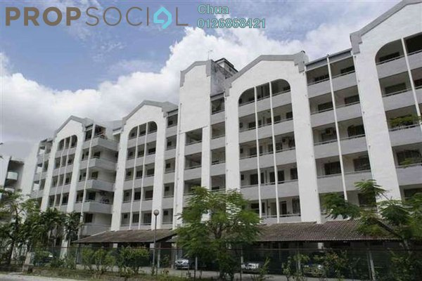 For Rent Condominium at Fawina Court, Ampang Leasehold Fully Furnished 2R/2B 1.8k