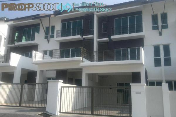 For Sale Terrace at Taman Titi Heights, Balik Pulau Freehold Unfurnished 4R/3B 677k