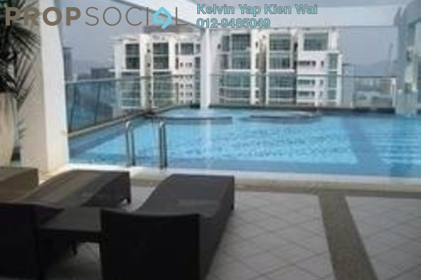 For Rent Condominium at Park View, KLCC Freehold Fully Furnished 2R/2B 3.5k