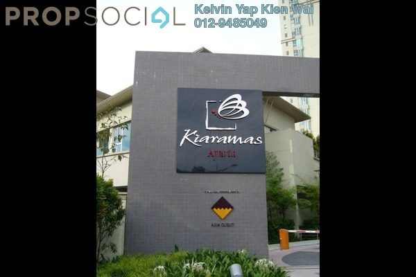 For Rent Condominium at Kiaramas Ayuria, Mont Kiara Freehold Fully Furnished 4R/3B 4.4k