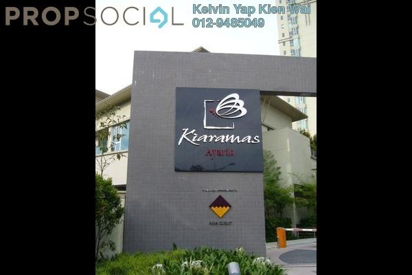 For Rent Condominium at Kiaramas Ayuria, Mont Kiara Freehold Fully Furnished 4R/3B 4.4k